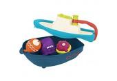 B. Toys BX1520Z B.Toys – Off The Hook – Bad-und Strandspielzeug Boot mit spritzendem Fisch und Aufbewahrungsbrett für Kleinkinder ab 6 Monaten