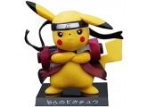 XFHJDM-WJ Geburtstagsgeschenk Siyushop Pokémon Pikachu (Uzumaki Naruto Version) PVC Modellhöhe 6 cm (2 3 Zoll) LIJ107