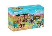 PLAYMOBIL 70119 Spirit - Riding Free Reitplatz mit Lucky & Javier bunt