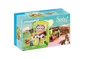 PLAYMOBIL DreamWorks Spirit 9480 Pferdebox Abigail & Boomerang Ab 4 Jahren