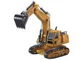 WWXL Spielzeugauto 1: 18 RC Bagger Engineering Traktor Truck 2.4G Simulation Ferngesteuertes Automodell Wiederaufladbare voll funktionsfähige Fahrzeuge Spielzeug Geburtstagsgeschenke für Kinder
