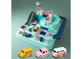BNTrack toy Simuliertes Stadtverkehrskindauto-Modellbahnspielzeug
