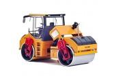 GXT Modell Kinderspielzeug Metall-Auto-Modell Doppel Stahlrad Road Roller 1.35 Technik Fahrzeug Puzzle