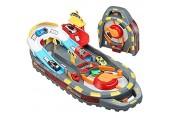 HOUSEHOLD Faltbarer Rennstreckenanzug Kinder Elektrische Schienen Auto Spielzeug Tragbares Lernspielzeug Übung Kinder kognitive Fähigkeit und Greiffähigkeit