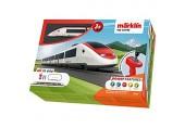 """Märklin 29335 Spielzeugeisenbahn My World 29335-Startpackung """"Schweizer Schnellzug"""" Modelleisenbahn Startset für Kinder ab 3 Jahren Mehrfarbig"""