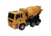 Drfeify 1/18 Engineering Baufahrzeuge Fernbedienung 6 Kanal Mixer Automodell Kinder Spielzeug