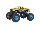 Zerodis 1:32 simulierte Klettern Geländewagen Modell Legierung Druckguss Zurückziehen Fahrzeuge Kinder Auto Spielzeug Urlaub Geschenk für Kleinkinder(Gelb)