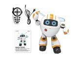 B&H-ERX Lernroboter-Spielzeug - Ferngesteuerter Roboter RC Programmierbarer Pädagogischer Roboter Für Kinder Geburtstagsgeschenk Geschenk Interaktives Gehen Singen Tanzen Intelligente Robotik