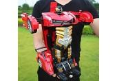 GRTVF 01.12 Funk-Fernbedienung RC-Auto 2 4 GHz Fernbedienung Transformator Spielzeug Violent Transformator Car 2-in-1 Deform Roboter Fahrzeug LED-Leuchten und Realistic Sound Vehicles