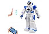 HUSAN Kinder Ferngesteuerter Roboter Intelligenter Tanzen-Roboter mit Infrarotprüfer-Spielwaren programmierbar singend LED-Augen Gesten-abfühlender Roboter der Kinder