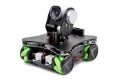 Roboter Auto Codierung Mecanum Rad Smart Robot Kit Whit FPV Kamera DIY 4WD Omni Mecanum Rad Pädagogischer motorisierter Roboter für die Programmierung des Lernenden