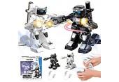 XIAOKEKE 2.4G RC Roboter Battle Boxing Robot (2 Stücke) Fernbedienung Kampfroboter Für Eltern Und Kinder Geschenk Somatosensorischer Ferngesteuerter Boxroboter