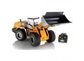RCTOYS 1:14 TR-213 2.4GHz 10CH Schwenkbarer Schaufel Radlader RC Ferngesteuerter Bagger Baustellen-Fahrzeug Modell mit viele Metallbauteile Full Metal Bulldozer Toy kann bis zu £ 3 5 Graben