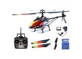 efaso Helikopter WLToys V913 – 2 4 GHz 4-Kanal Single Blade Hubschrauber mit LCD Display an der Fernsteuerung Alu-Chassis und hoher Windresistenz inkl. Batterien für Fernsteuerung