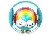 Fisher-Price FYL41 - Regenbogenball Babyspielzeug mit 2 Spielmöglichkeiten ab 9 Monaten