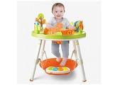 ZXYSHOP Baby höhenverstellbares Spring- und Spielcenter mit Lichtern Melodien und mehr als interaktiven Spielzeugen
