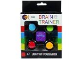 Fun Trading 4802 - Brain Trainer Gedächtnis und Lernspiel mit Licht und Sound inklusive Batterien