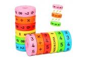 Etmury Rechenrolle Mathematik Lernspielzeug 2 Stück Rechnen Lernen Spielzeug Magnetisches Mathe Lernen DIY Puzzles für Kinder Vorschule Pädagogisches Plastikspielzeug (Mehrfarbig)