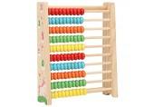 GAESHOW Kid Early Education Kid Abacus Kinder Holz Lernspielzeug Berechnungshalterung Rack Hochwertiges Holz(1)