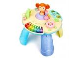 Spielzeug zur Frühentwicklung Kinder multifunktionale Studie Tabelle Früherziehung Pädagogisches Spielzeug Lenkrad Spielzeug Tabelle 1-3 Jahre Altes Baby Früherziehung Spielzeug
