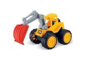 JT-Lizenzen Luna Super Construction Truck Bagger Schaufelbagger Baustellen Fahrzeug +3J
