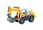 YAMAXUN Toy Driller Abbruchmaschine Modell Für Jungen Druckguss Baufahrzeuge Toy Mini Engineering Toys Frühes Lernen Geburtstagsgeschenk Für Kinder B