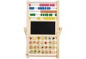 Aktivitätswürfel Babyspielzeug Whiteboard Malen Staffelei Lernen Math Manipulatives Zahlen Zählen Perlen Klassische Abacus Spielzeug Lernspielzeug Holz Aktivität Sorter Spielzeug