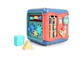 Baby Activity Cube Toy Multi-Assembly Activity Quadratische Formen Sorter Toy Sorter Frühe Entwicklung Lernspielzeug für Baby Kleinkind