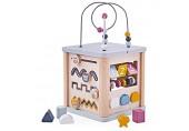 Bigjigs Toys 100 % FSC®-zertifizierter Aktivitätswürfel