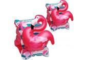 alles-meine.de GmbH 2 * 2 TLG. Set 3D Effekt - Schwimmflügel / Schwimmärmel - aufblasbar - Flamingo Vogel - 1 bis 6 Jahre - jeweils 2 Luftkammern ! - Schwimmhilfe - für Mädchen..