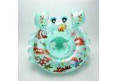 CYLYFFSFC Baby-Schwimmring-Cartoon-Krabben-Baby-Schwimmbad Float-Ring-Schwimmen-Ring-Sitzboot Schwimmschutzgriff mit Baby-Schwimmring mit umweltfreundlichen Materialien