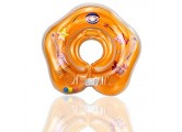 FreshWater Baby Schwimmring Swimming Float Swim Rings for BabiesInfant Inflatable Neck Float Ring for Bath Swimming Childrens First Swim Floaties Bathtub Toys Pool Swimming Ring Blue