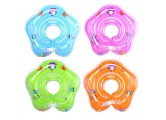 Inflatable Baby Swim Float Children Waist Ring Pool Floats Toys Swimming Pool Accessories Childrens' First Swim Floaties Bathtub Toys for Baby 0-18 Months?with Inflator Pump? (Green)