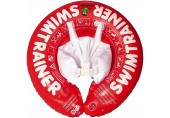 VintageⅢ Baby Swimming Ring Floating Child Waist Inflatable Floats Swimming Pool Toy for Bathtub and Pools Swimtrainer Dropship (Red Small)