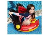 YIQIFEI Kids Swim Float Trainer mit abnehmbarem Sonnenschutz Aufblasbares Sitzboot Schwimmring Summer Pool Liegen Wasserspielzeug für 2-6 Jahre (Pool)