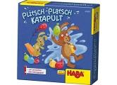 HABA 301883 - Plitsch-Platsch-Katapult Wasserbomben-Schnippspiel