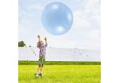 YanFeng Aufblasbarer Wasserball weicher Gummiball Bubble Ball Ballon Reißfeste Ballons Dehnen Sie den festen Ball auf 50 cm / 120 cm für Spiele im Freien Jungen und Mädchen