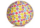 Abanico Bubabloon_BB-321 BB-17501 - BubaBloon Ballonhülle Circles kinderfreundliche textile Ballonhülle aus hochwertiger Popeline Baumwolle inklusive 3 Latex Luftballons