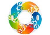 Farbwirbel Schwimmreifen Schwimmring Reifen Ø 119 cm