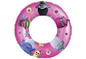 Lively Moments Schwimmring / Schwimmreifen mit den Bildern von DreamWorks Trolls Poppy Branch Cooper Guy Diamond und Biggie Durchmesser ca. 50 cm in pink - lila