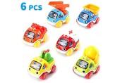 Amy&Benton Auto Spielzeug Zurückziehen ab 1 Jahr Baby Spielzeugauto Kleinkinder ab 2 Jahren Mini Pull Back Auto Zurückziehen für Junge ab 3 Jahre