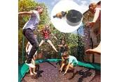 SVHK Trampolin-Wasser-Sprinkler Sommer Outdoor-Wasser-Spiel Spielzeug für Kinder 39ft Trampolin-Wasserpark Wasserspiel Trampolin-Sprinkler für Jungen Mädchen und Erwachsene