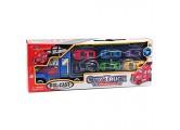 Alsino Kinder Truck LKW Spielzeug mit 6 Mini Autos und Soundeffekt