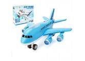 EisEyen Flugzeug Spielzeug für Babys und Kleinkinder Geschenke mit Sound LED Licht Passagierflugzeug Spielzeugmodell Spielzeug Geschenkidee