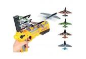 Katapult Flugzeug Auswurf Schaum Flugzeuge Luftschlacht EIN-klick Auswurf Modell Segelflugzeug Modell Trägerraketen Spielzeug Outdoor Spielzeug Flugzeug Trägerraketen