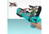 LGLG Outdoor-Kinderspielzeug EIN-Knopf-Auswurfschaum-Flugzeug Material ist sicher und kann Kinder das Flugzeug jagen Lassen mehr Sport